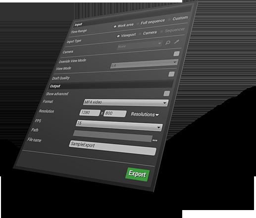 Director Tools - UE4 plugin